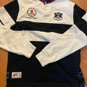 Vintage 1985 Tommy Hilfiger Rugby Team Long Sleeve
